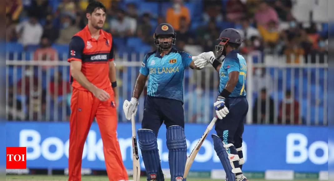 T20 World Cup Live Score: Sri Lanka vs Netherlands