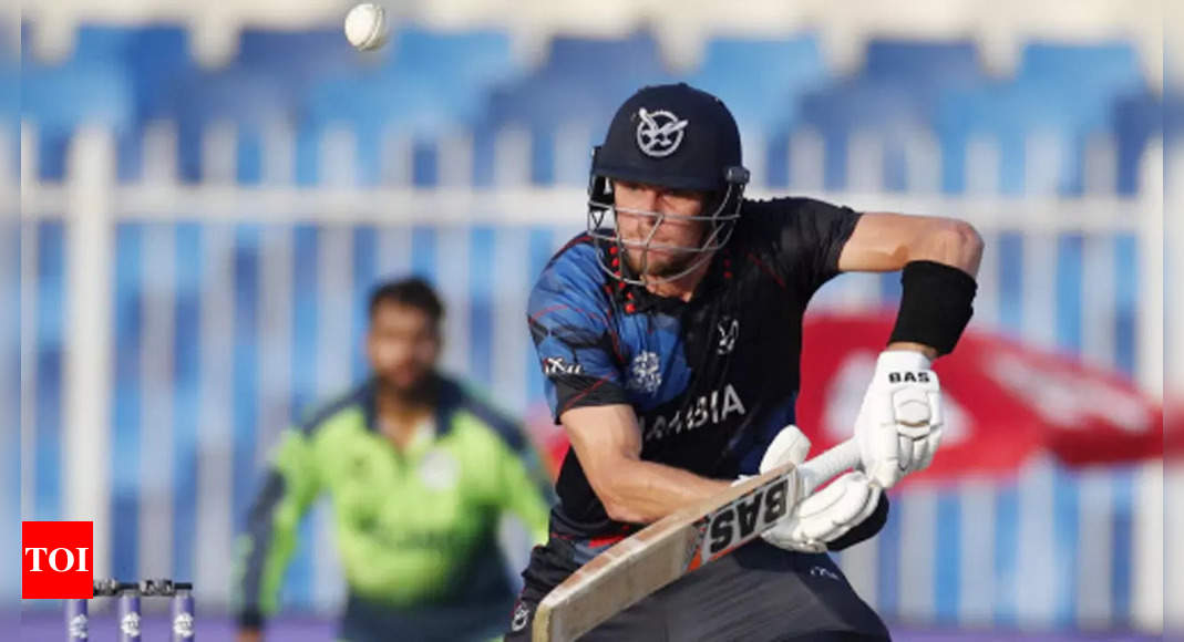 T20 WC: Namibia beat Ireland by 8 wickets to enter Super 12s