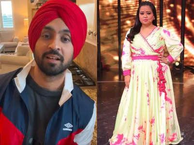 Diljit Dosanjh reveals Bharti inspired him