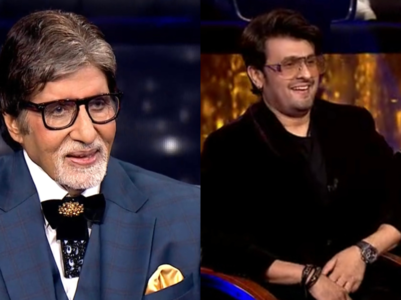 KBC13: Big B is touched by Sonu's gesture
