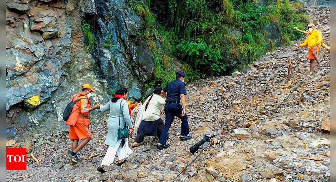 Uttarakhand toll rises to 67; 12 trekkers among dead thumbnail