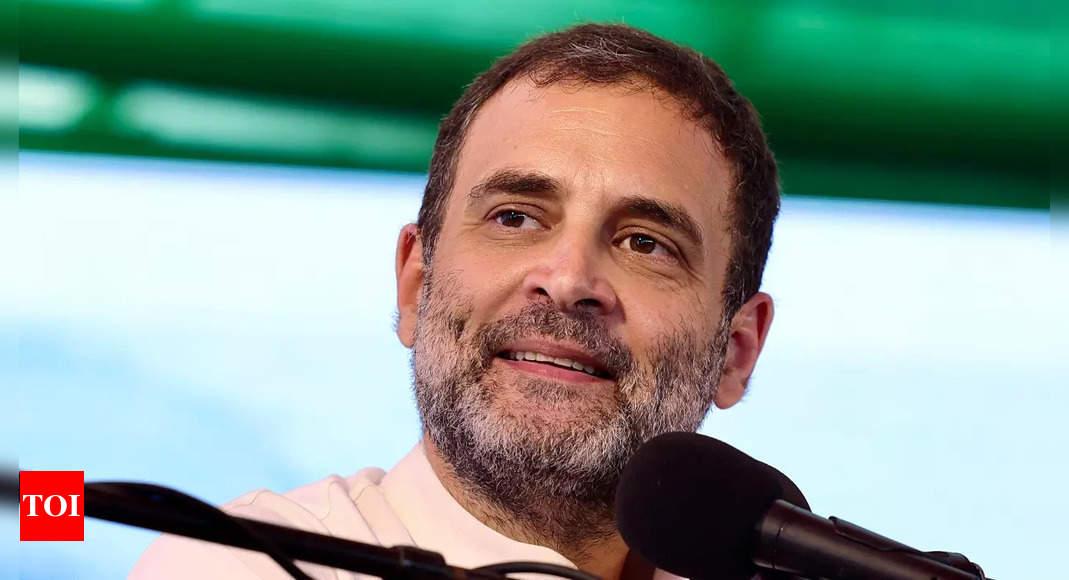 Eye on 2022 polls, Rahul discusses Gujarat Congress rejig