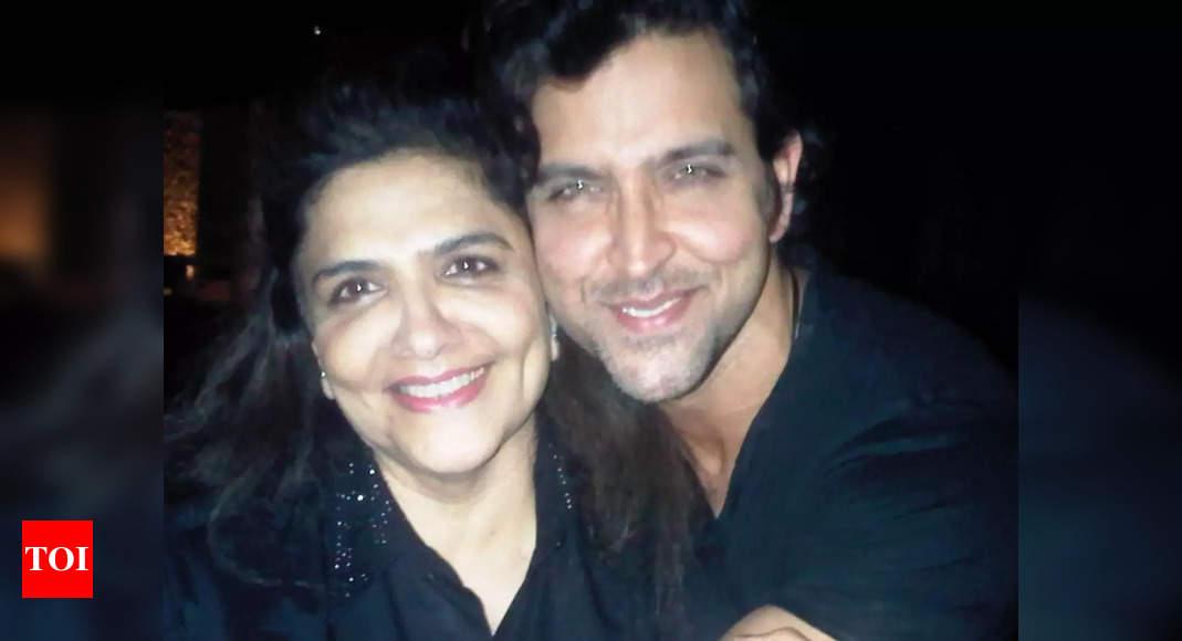 Hrithik Roshan birthday wishes mom Pinkie
