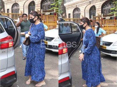 SRK's manager visits NCB office