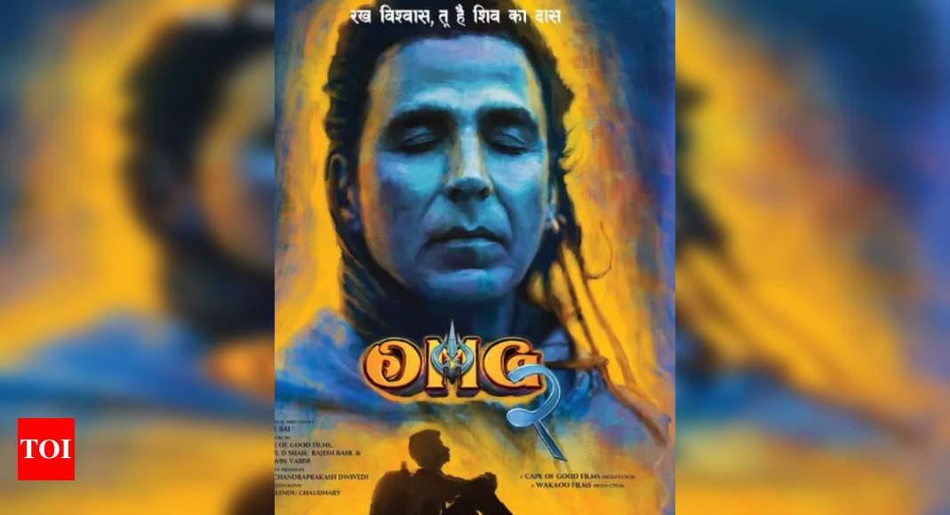 Akshay shares first-look of OMG2
