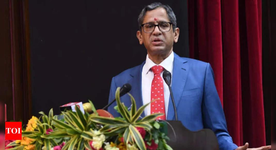 CJI Ramana rues 'ad-hoc, unplanned' improvement and maintenance of judicial infrastructure