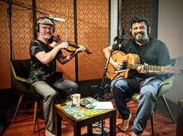 Raghu Dixit's collaboration with Casey Driessen in the race for Grammys