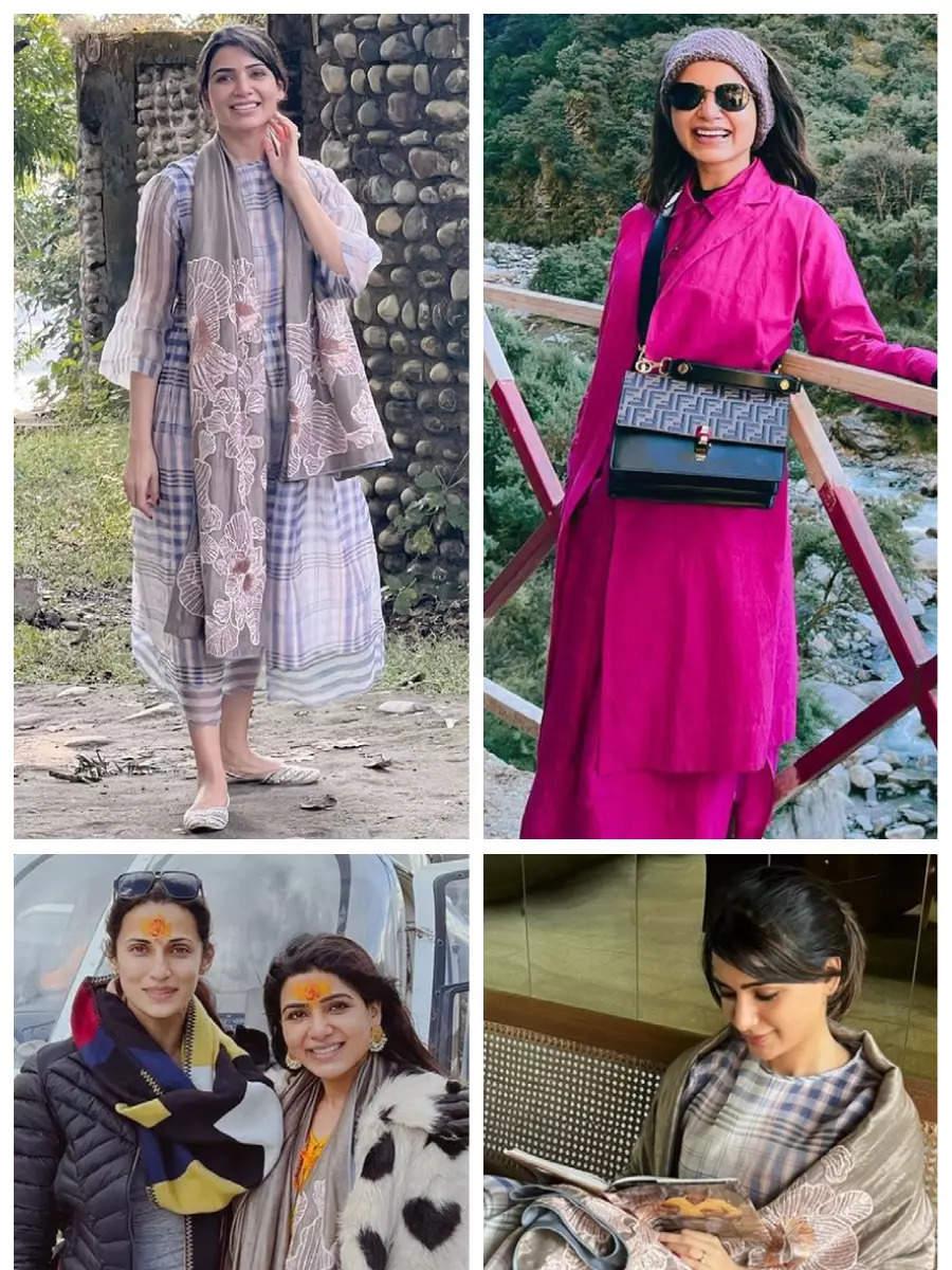 Inside pics from Samantha's Char Dham Yatra