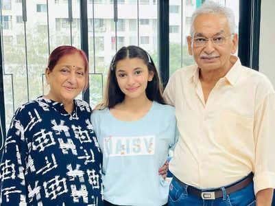 Vaishnavi gets a surprise from grandparents