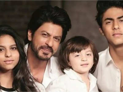 SRK on his name affecting his children