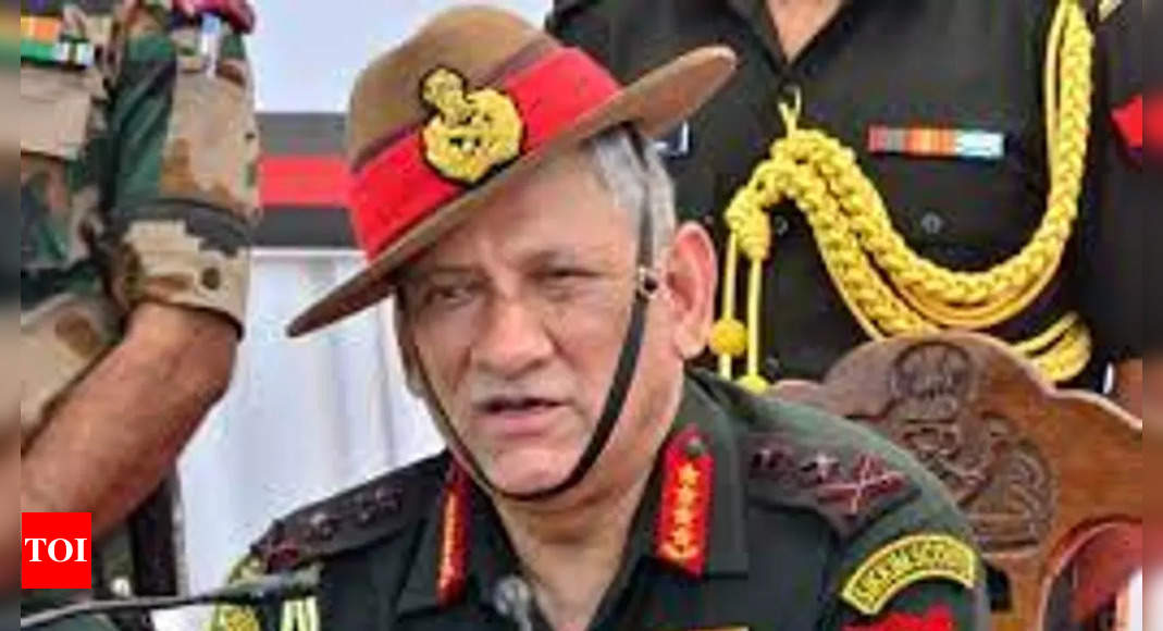 'Omnipresent danger' to stability of South Asia due to China's ambitions: General Rawat