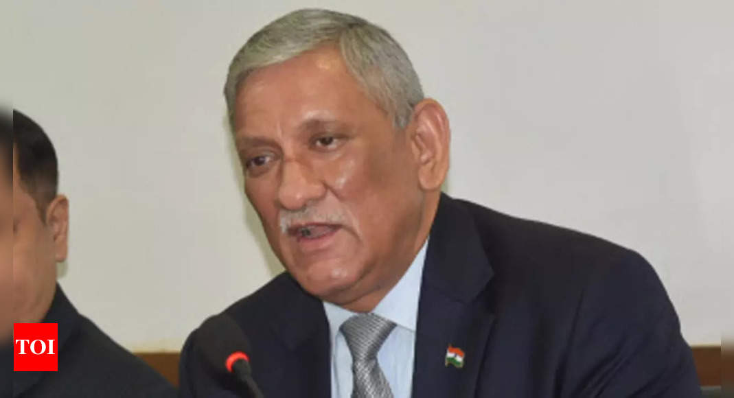 Danger to stability in South Asia due to Beijing's ambitions, China-Pakistan nexus: CDS General Rawat