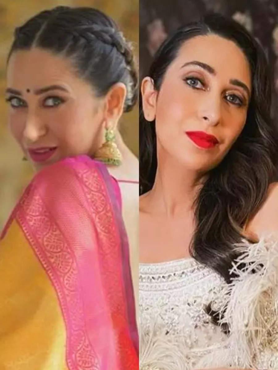 Best hairstyles of Karisma Kapoor