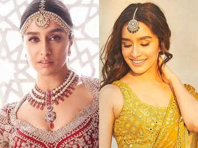 Bridal look inspiration from Shraddha Kapoor