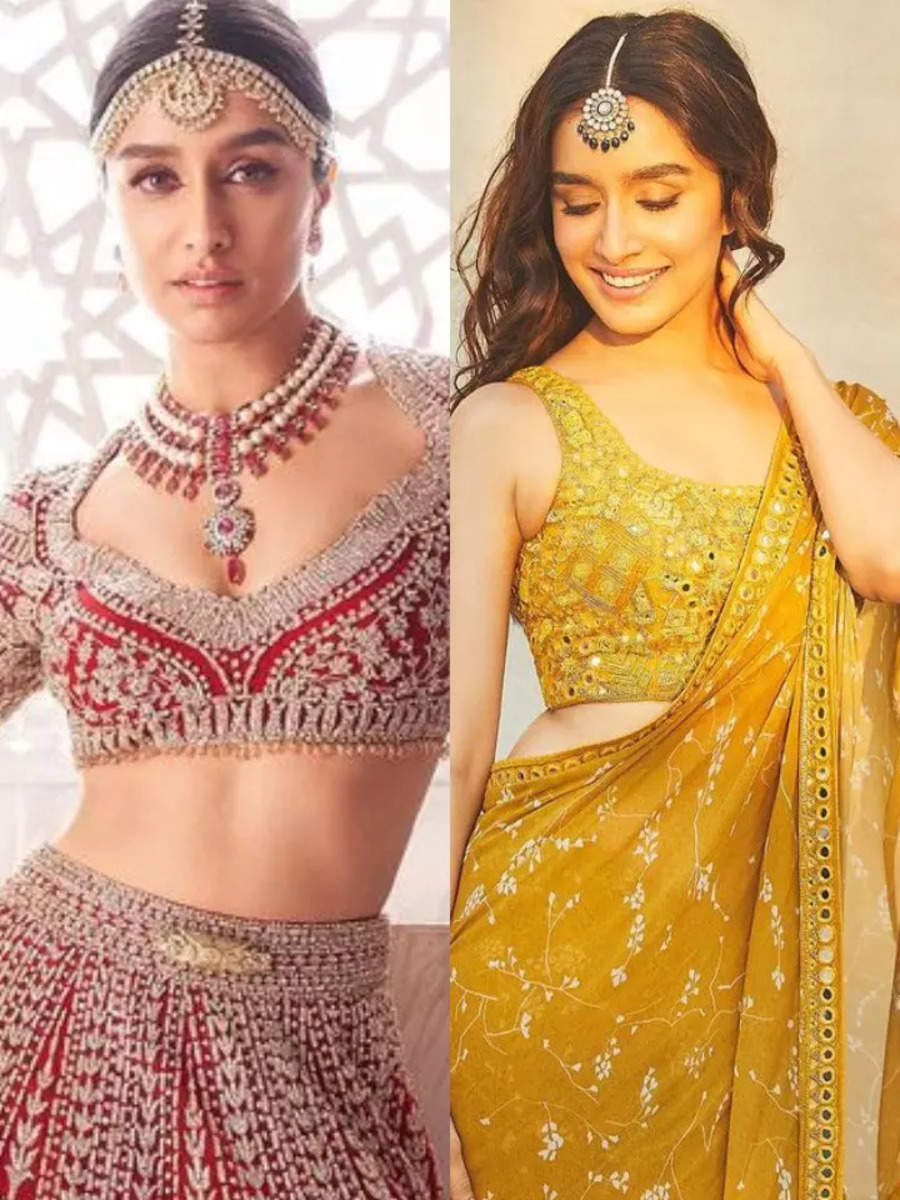 All the bridal look inspiration from Shraddha Kapoor