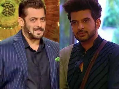 Salman schools Karan over his aggression
