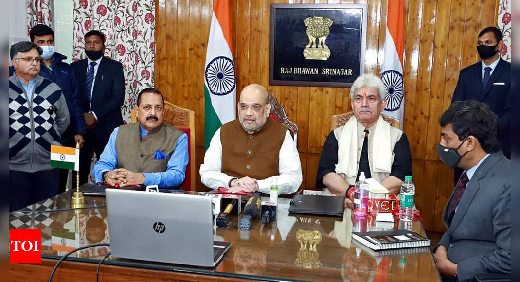Join fight against terror, Shah urges J&K youth