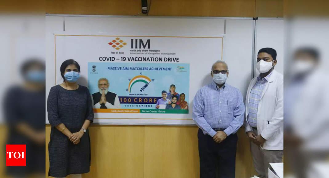 IIM-Vizag achieves 100% Covid vaccine coverage