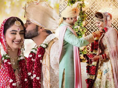 Celebs' first Karwa Chauth post marriage