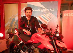 Shoaib Ibrahim buys a high-end bike; see pic