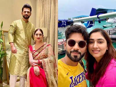 Rahul's cute post for Disha's Karwa Chauth