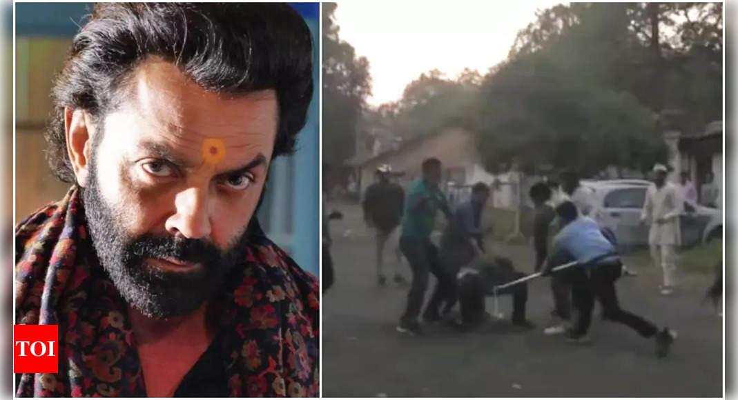 Bajrang Dal activists attack 'Ashram-3' sets for 'wrong portrayal'
