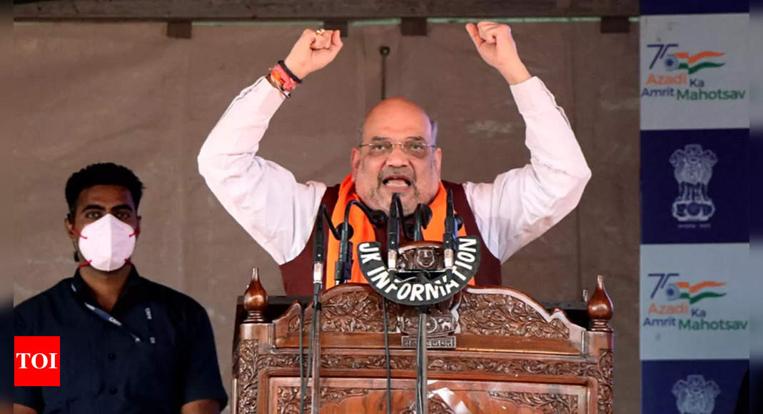 J&K is land of temples, we won't allow peace to be disrupted, says Shah