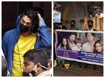 SRK's fans gather outside Mannat, see pic