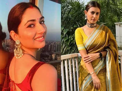 Karwa Chauth looks of television celebs