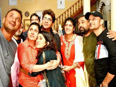 Shivangi bids tearful adieu to 'Yeh Rishta'
