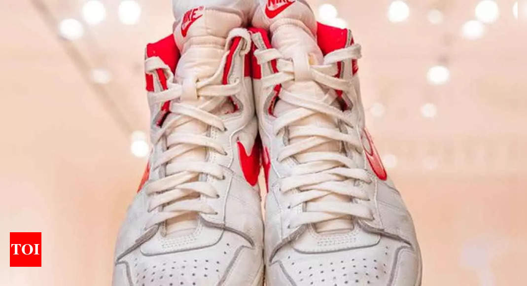 Michael Jordan sneakers sell for nearly $1.5 mn, an auction record