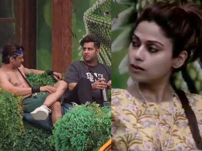 BB15: Rajiv exposes Vishal's game to Shamita