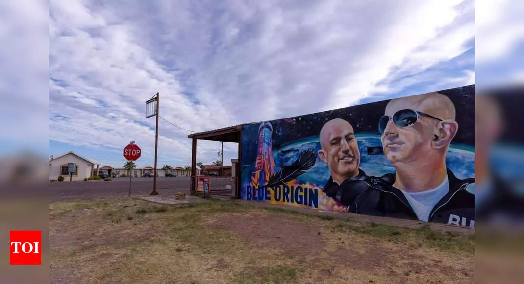 blue origin:  Bezos' Blue Origin announces plans for private space station – Times of India