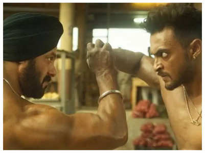 Aayush: I was scared to punch Salman Khan