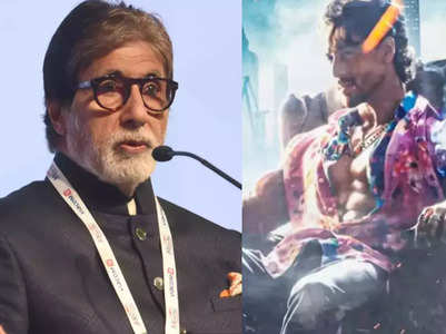 Big B to play Tiger's father in 'Ganapath'?
