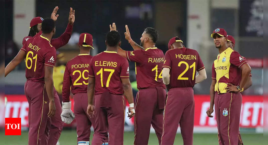 T20 World Cup: Can ageing warriors bring Windies back into contest?   Cricket News – Times of India