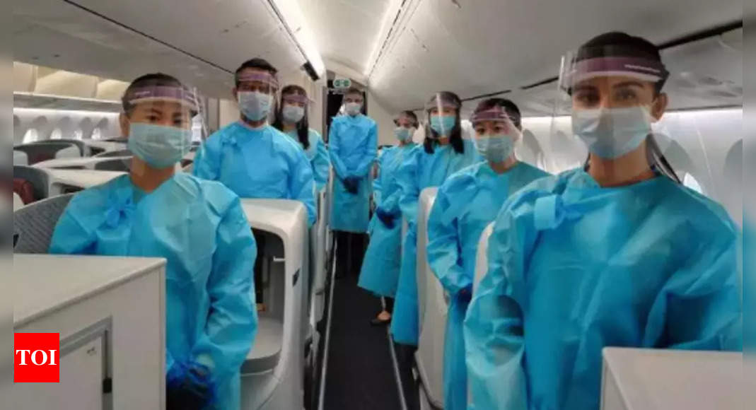 Flying to US from November 8: Need to be fully jabbed with WHO-approved vaccines – Times of India