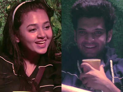BB: Karan and Tejasswi flirt with each other