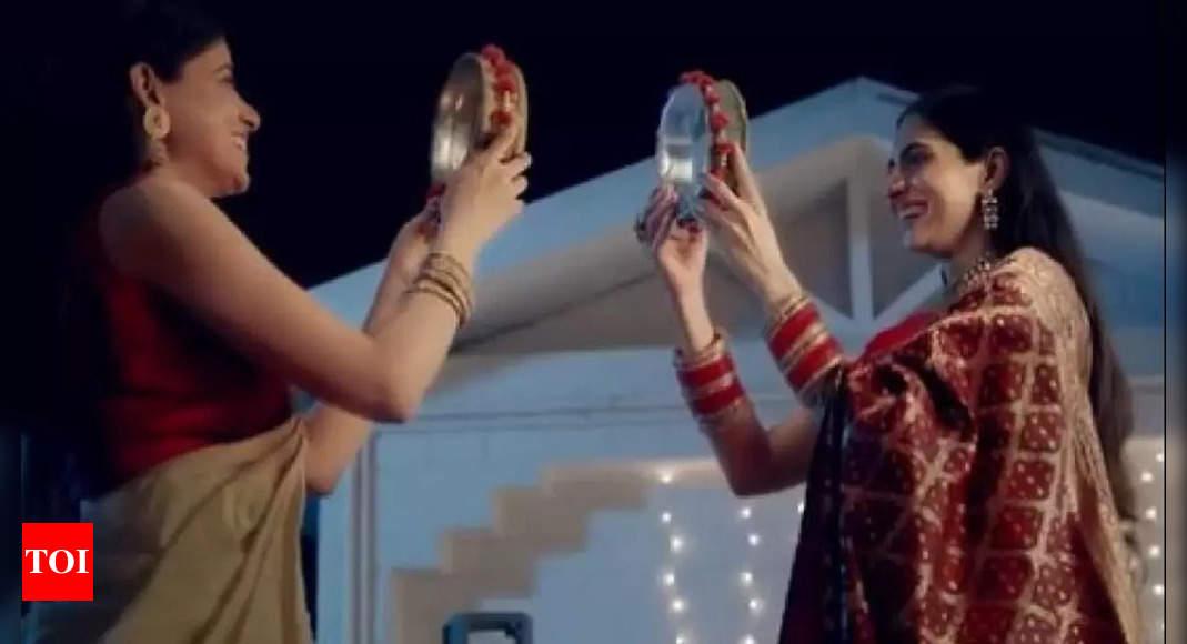 Dabur takes down ad with lesbian couple