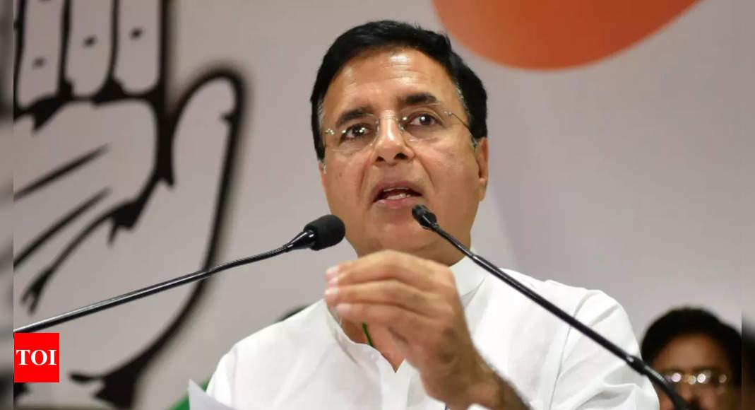 Congress to undertake massive membership drive from November 1, 2021-March 31, 2022: Randeep Surjewala