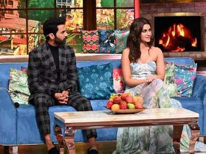 Rajkummar, Kriti as celebrity guests on TKSS