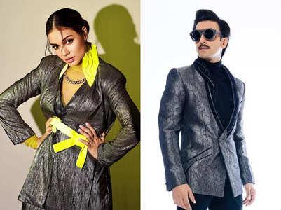Divya channels her inner Ranveer Singh