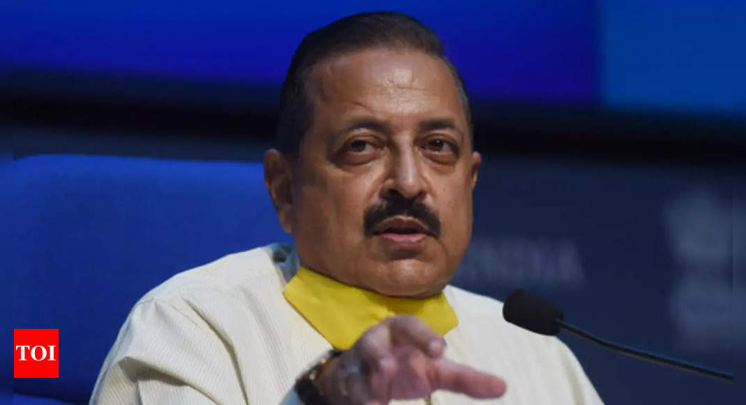 Old ways of running govt depts have to give way to needs of post-Covid world: Jitendra Singh