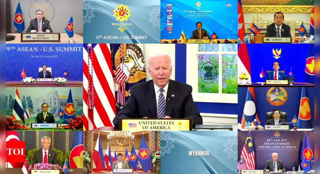Joe Biden denounces coup and 'horrific violence' in Myanmar – Times of India