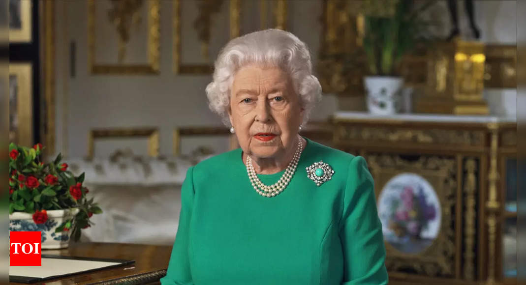 UK's Queen Elizabeth pulls out of COP26 following advice to rest – Times of India