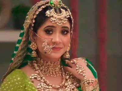 Shivangi on her last day on Yeh Rishta set