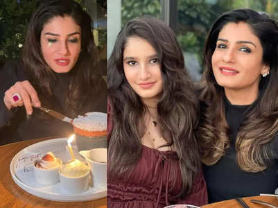 Raveena shares a glimpse of her birthday