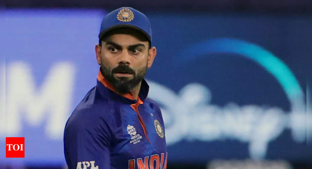 Virat Kohli slips one slot to 5th, KL Rahul loses two spots to 8th in ICC T20 batter rankings   Cricket News – Times of India