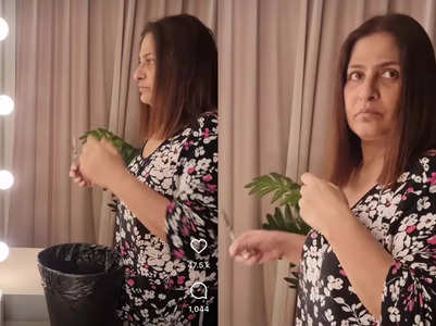 Archana slaps her son for funny reason; watch