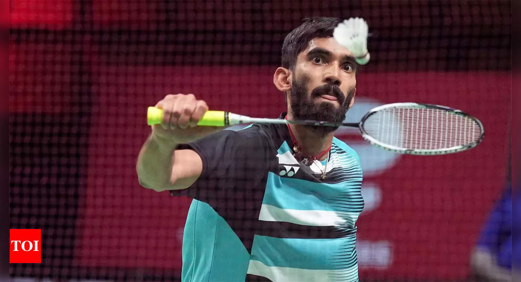 Srikanth's fight ends in agony at French Open, Satwik-Ashwini win